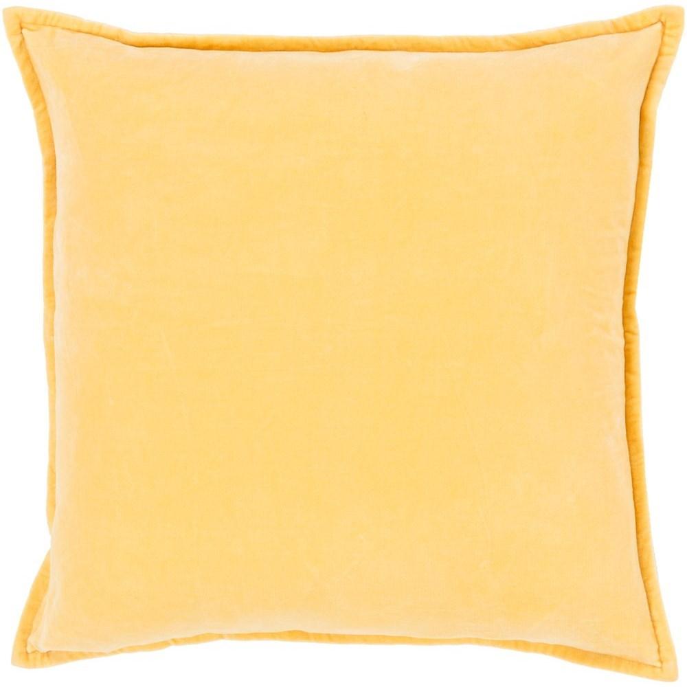Cotton Velvet 13 x 19 x 4 Down Pillow Kit by Surya at Suburban Furniture