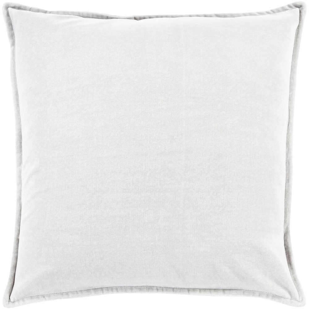 Cotton Velvet 20 x 20 x 4 Down Throw Pillow by 9596 at Becker Furniture