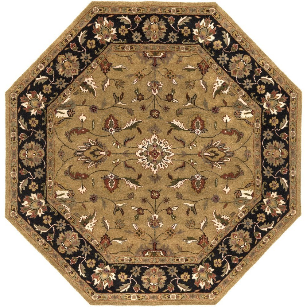 Crowne 8' Octagon by Surya at Upper Room Home Furnishings