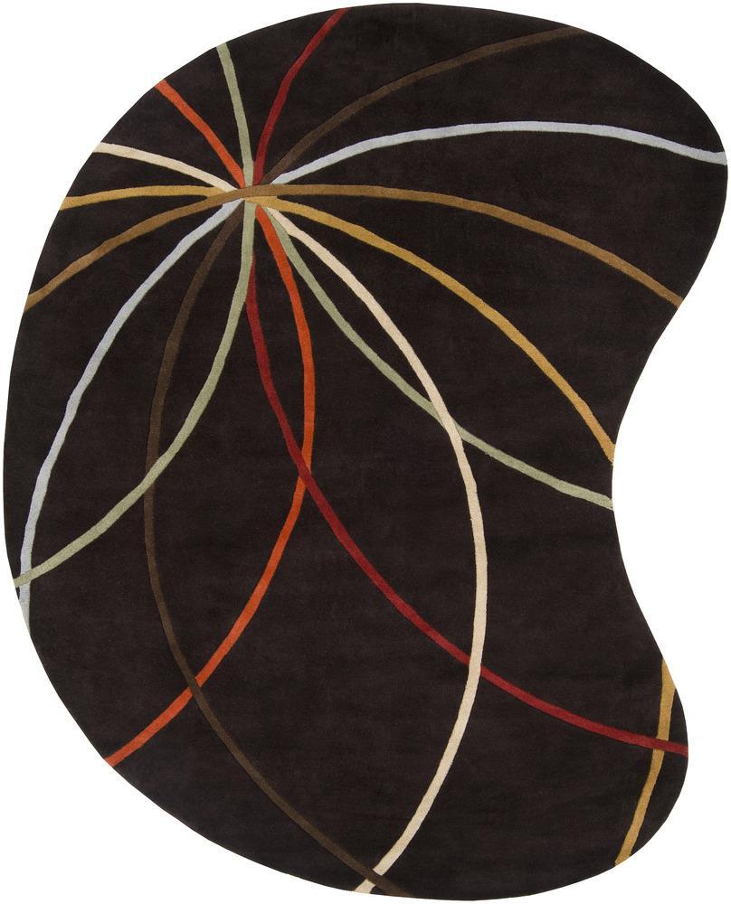 Forum 8' x 10' Kidney by Surya at Suburban Furniture