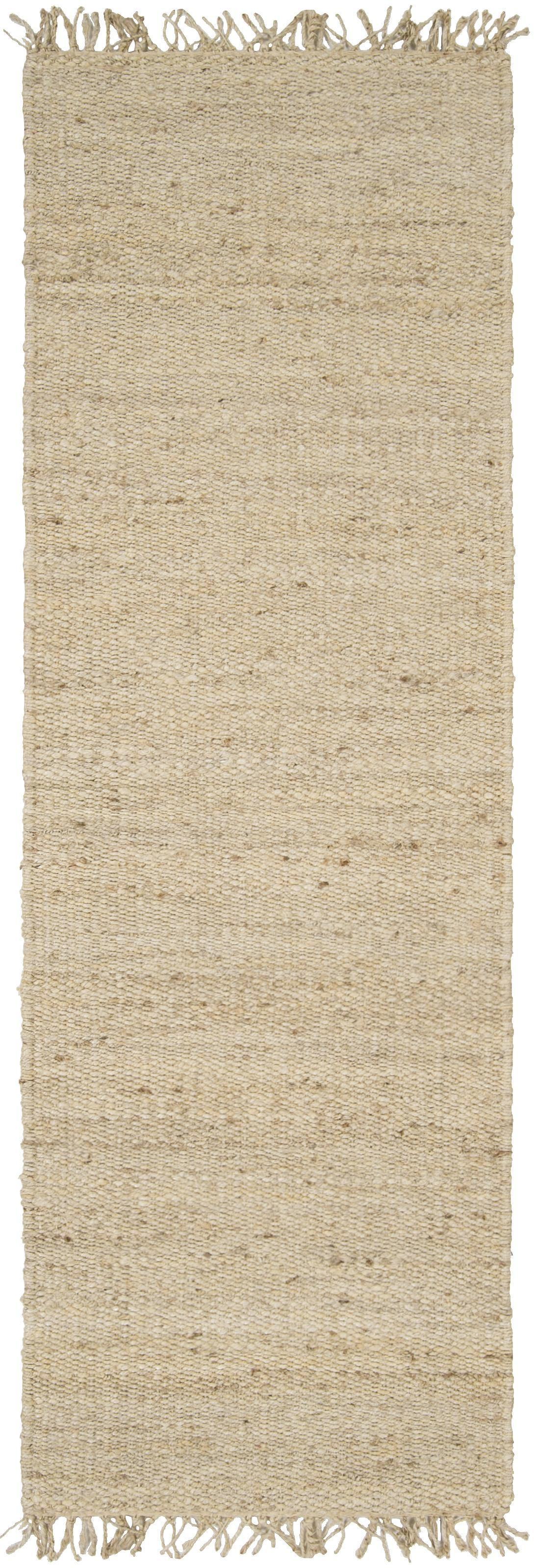 """Jute Bleached 2'6"""" x 7'6"""" by Ruby-Gordon Accents at Ruby Gordon Home"""