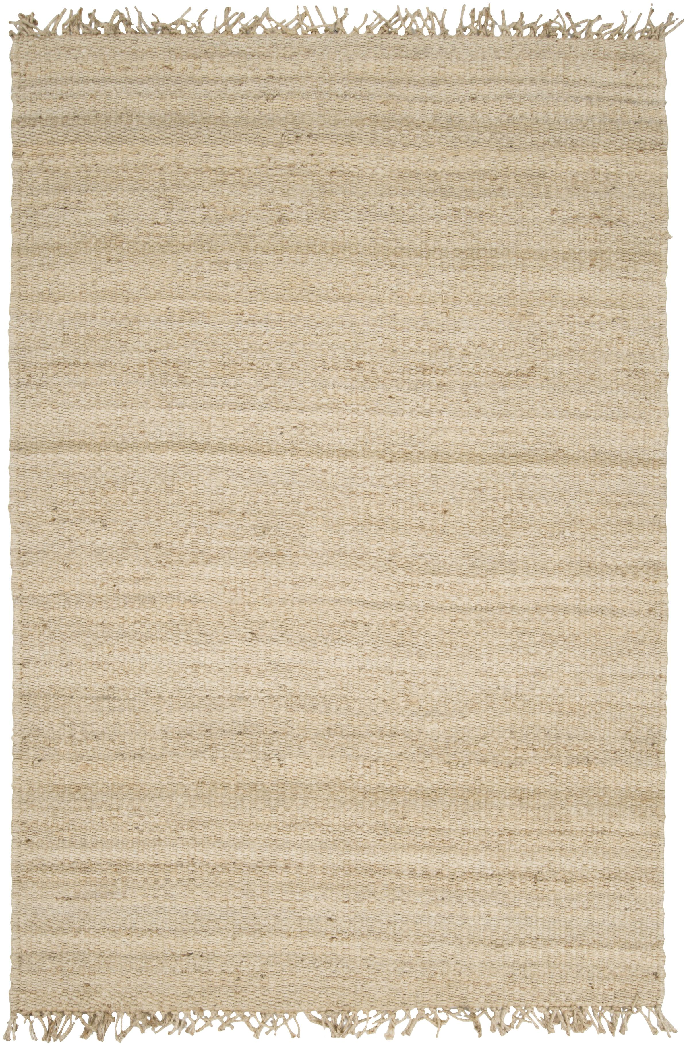 Jute Bleached 4' x 6' by Surya at Del Sol Furniture