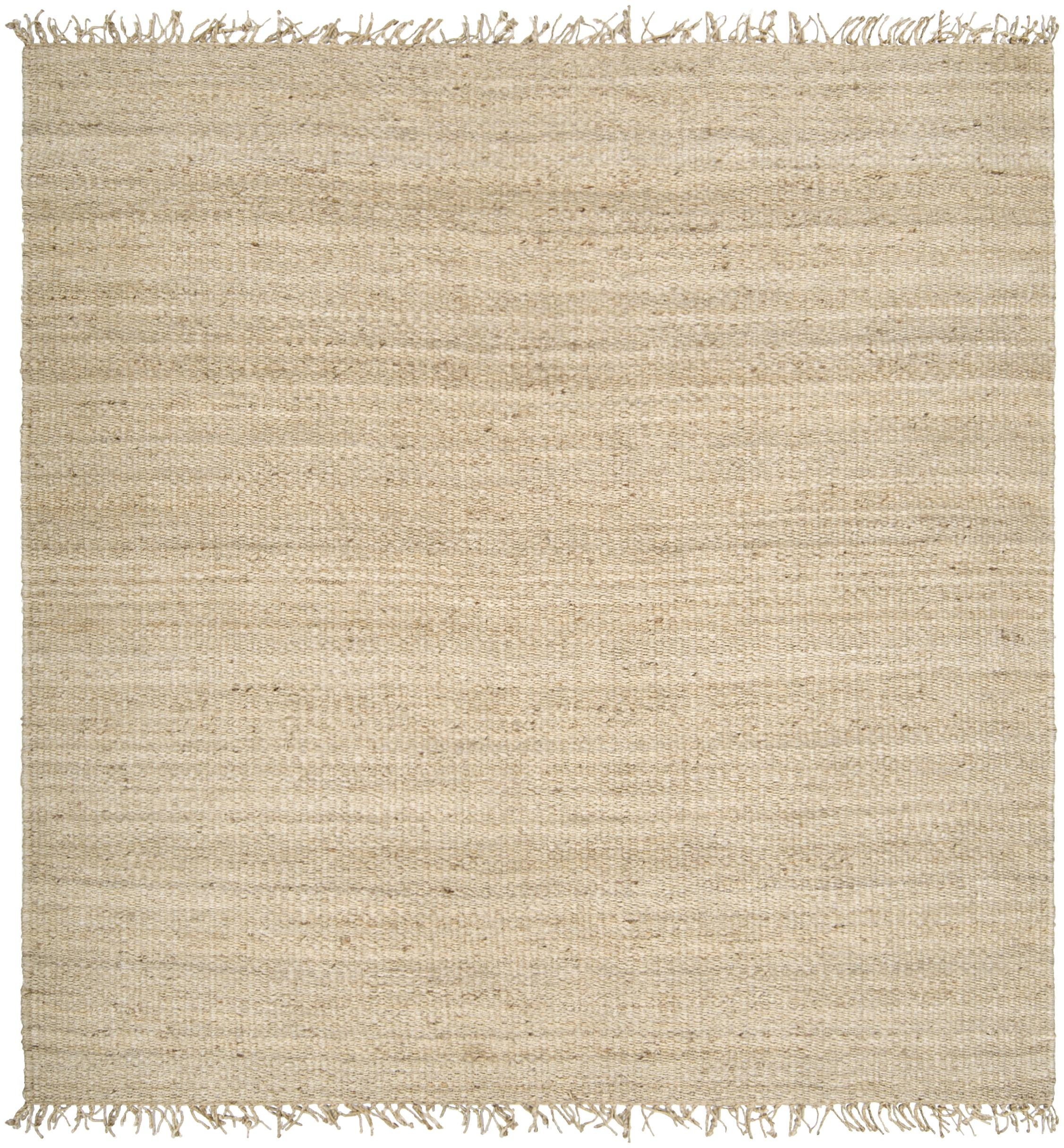 Jute Bleached 8' Square by Ruby-Gordon Accents at Ruby Gordon Home
