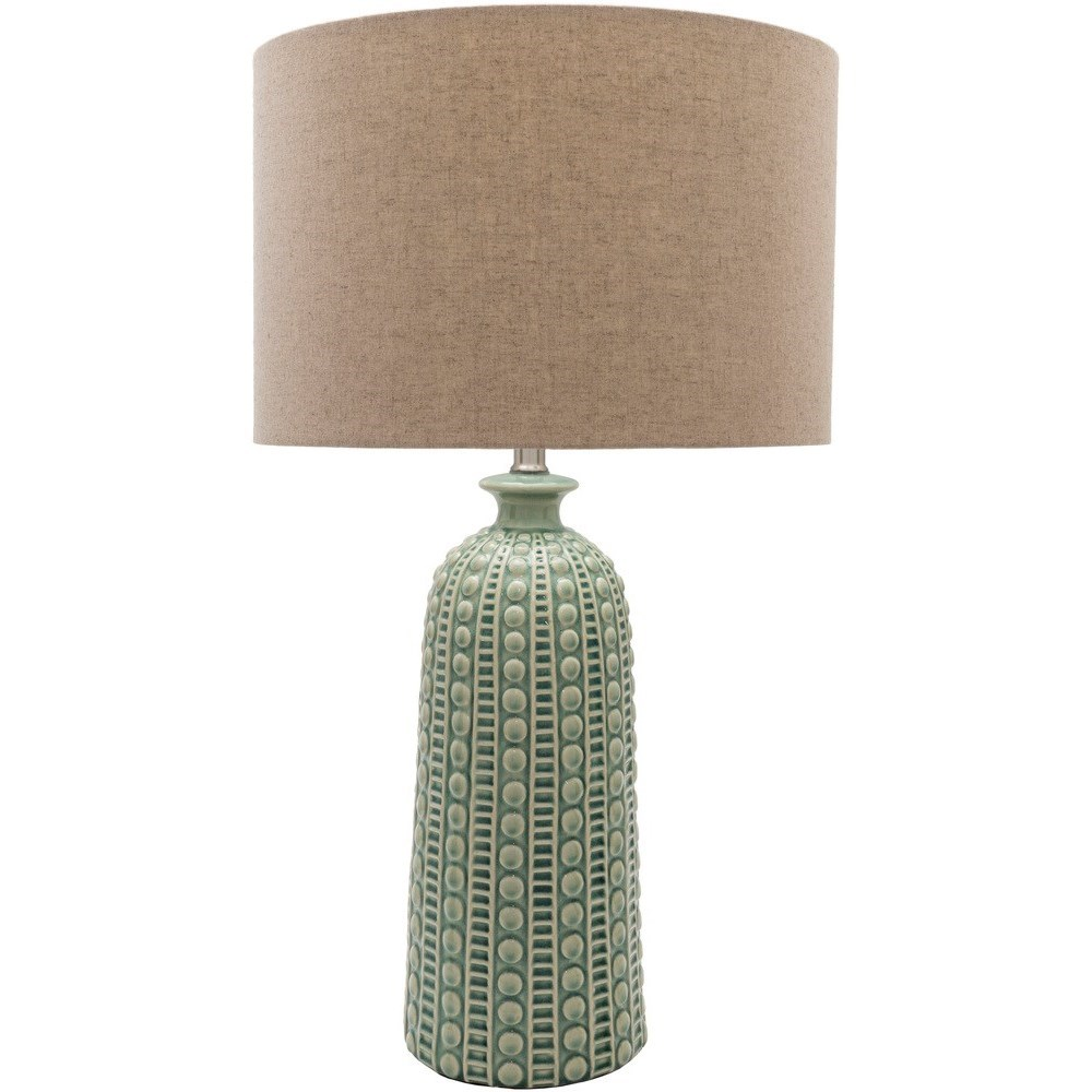 Newell  Glazed Coastal Table Lamp by Ruby-Gordon Accents at Ruby Gordon Home