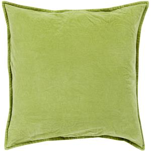 "Surya Pillows 20"" x 20"" Cotton Velvet Pillow"