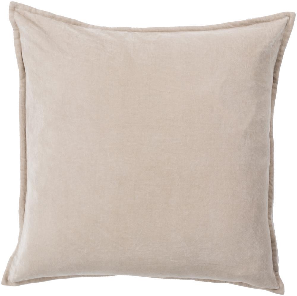 "Pillows 22"" x 22"" Cotton Velvet Pillow by Surya at Suburban Furniture"