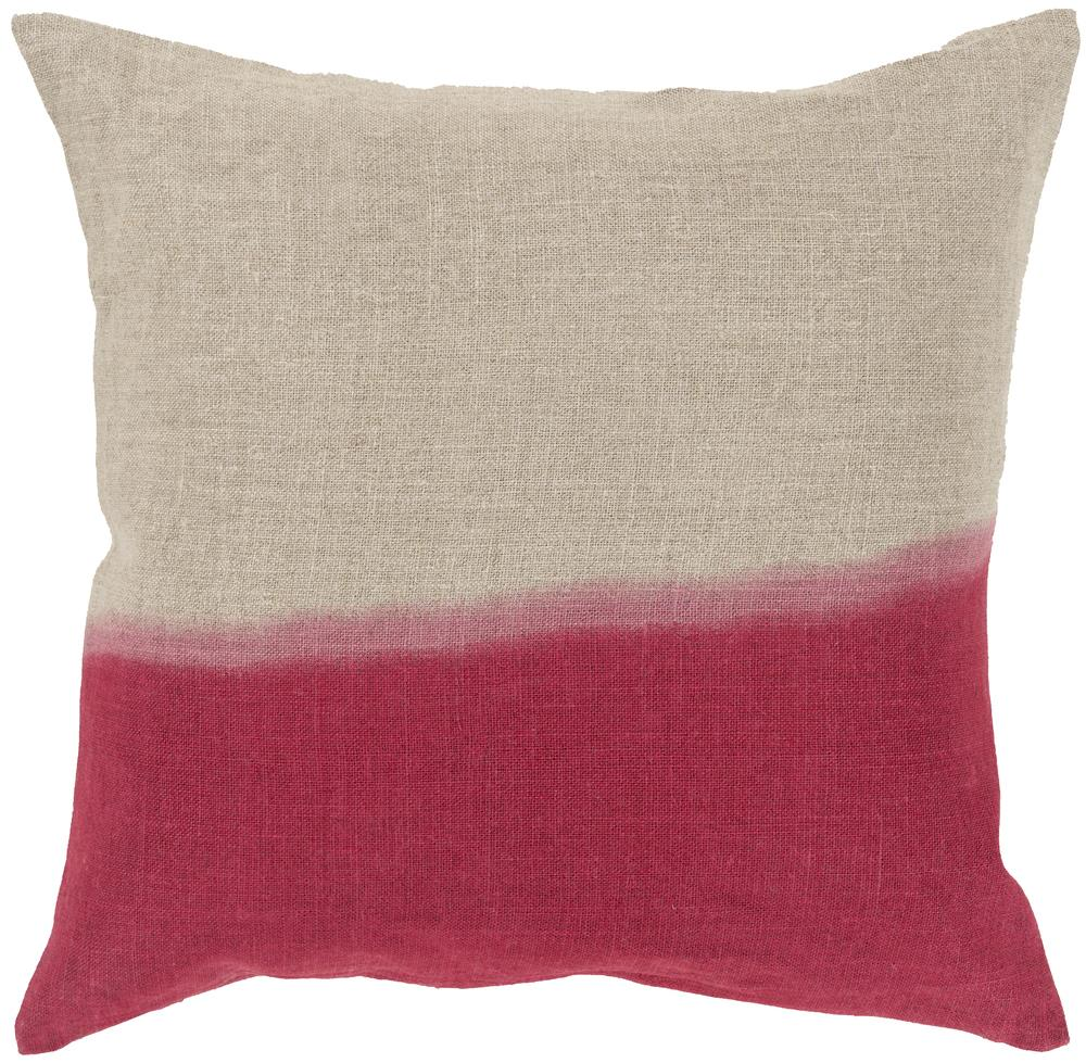 "Pillows 20"" x 20"" Dip Dyed Pillow by Surya at SuperStore"