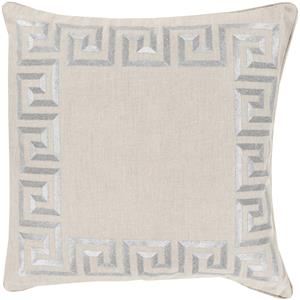 "Surya Pillows 18"" x 18"" Key Pillow"