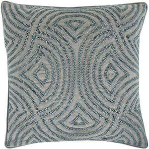 "Surya Pillows 18"" x 18"" Skinny Dip Pillow"