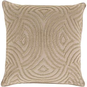 "Surya Pillows 20"" x 20"" Skinny Dip Pillow"