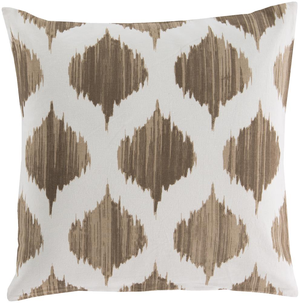 "Pillows 18"" x 18"" Ogee Pillow by Surya at Suburban Furniture"