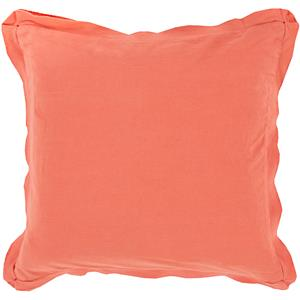 "Surya Pillows 20"" x 20"" Triple Flange Pillow"