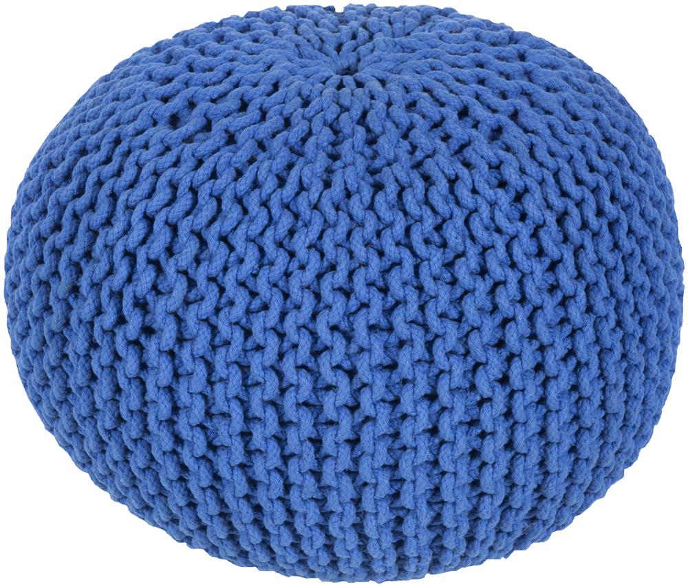 """Poufs 20"""" x 20"""" x 14"""" Malmo Pouf by Surya at Upper Room Home Furnishings"""
