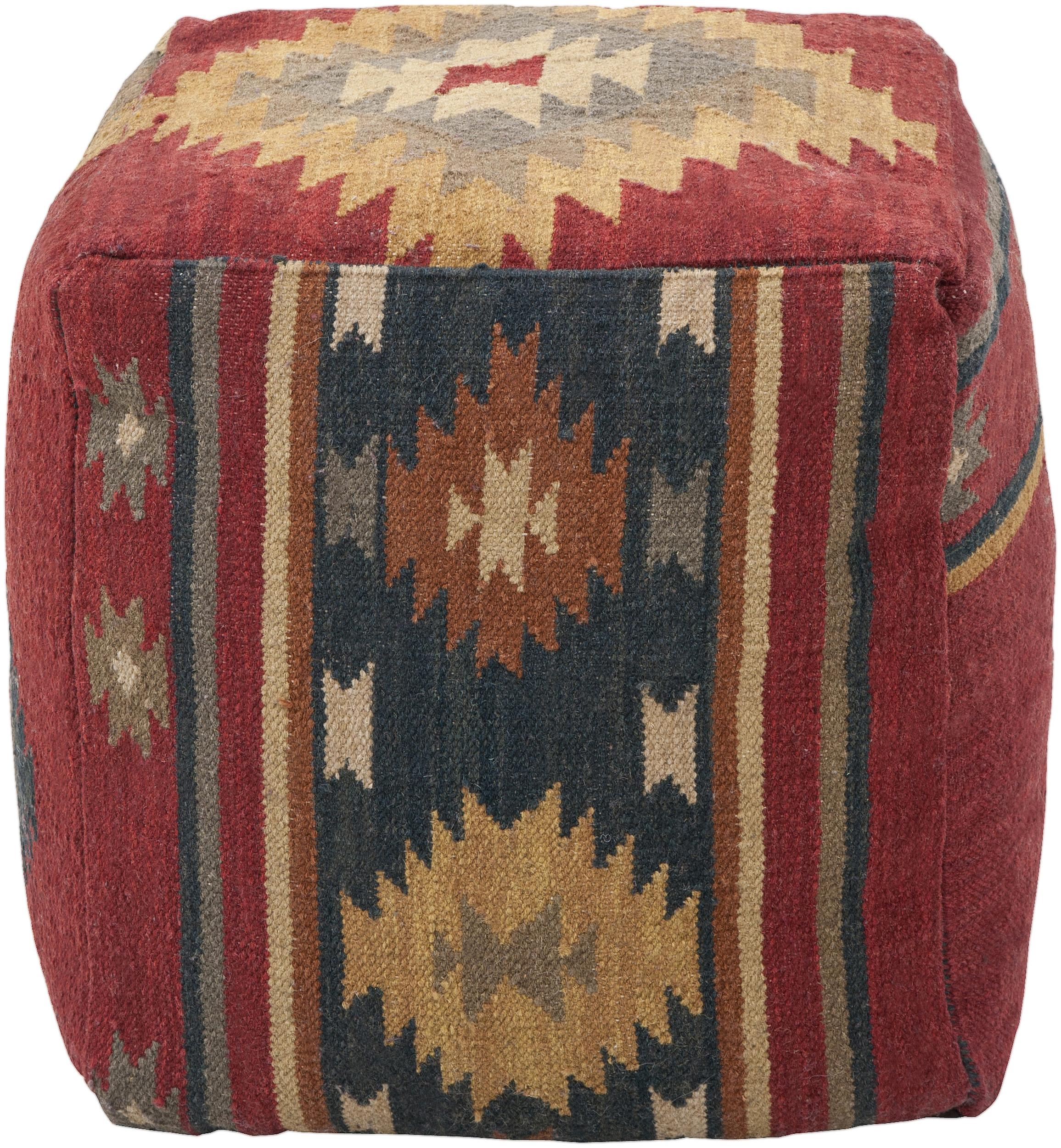 "Poufs 18""x18""x18"" Pouf by Surya at Rooms for Less"
