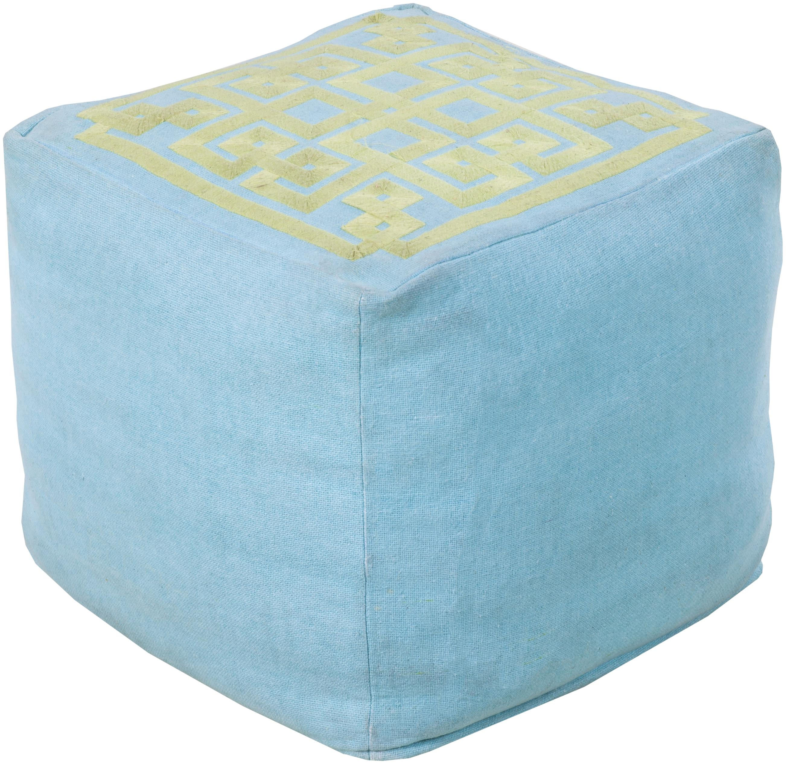 "Poufs 18"" x 18"" x 18"" Pouf by 9596 at Becker Furniture"