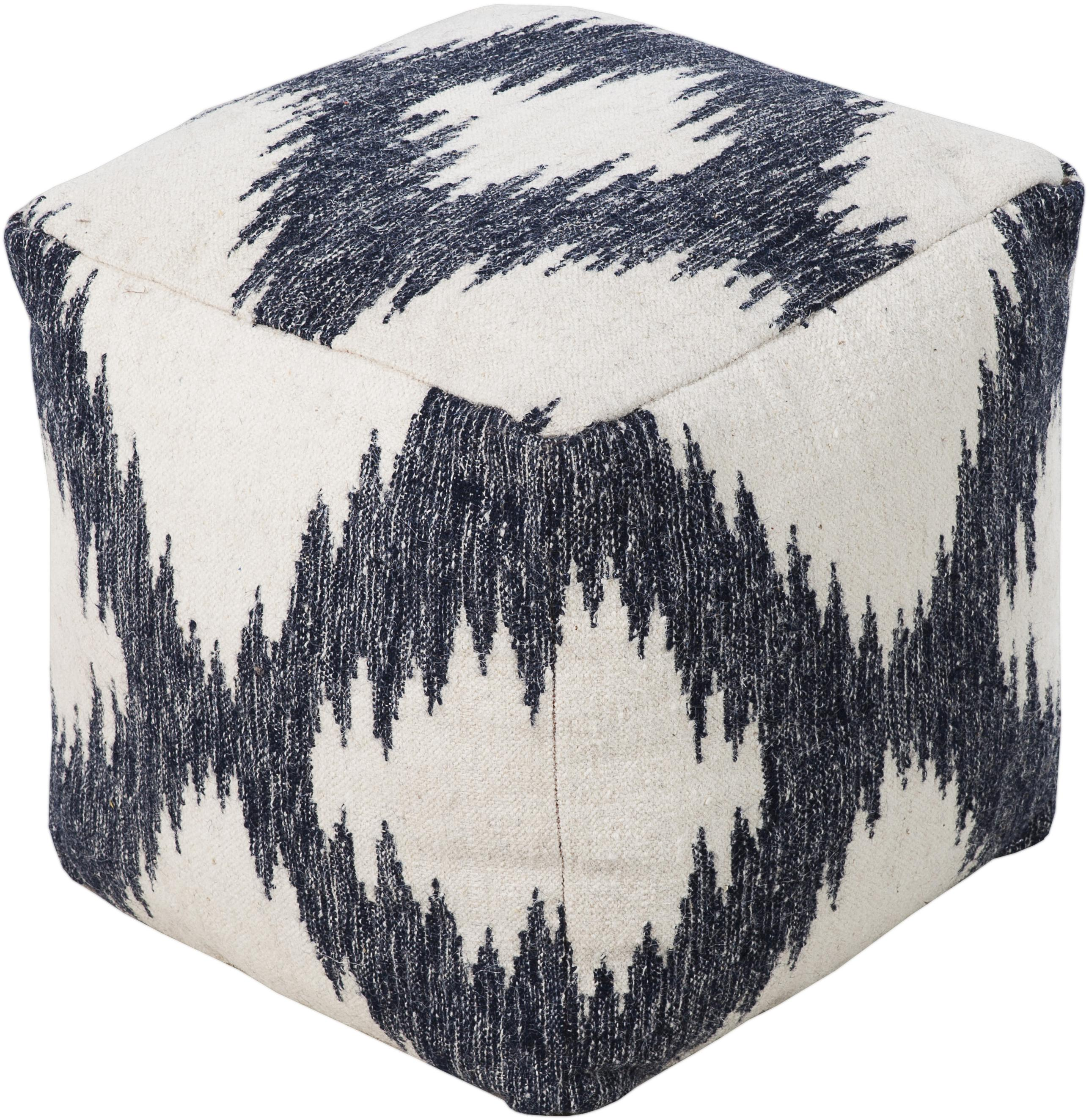 "Poufs 18"" x 18"" x 18"" Pouf by Surya at SuperStore"