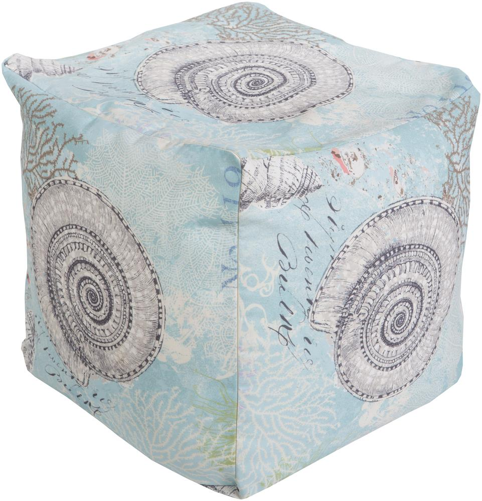 """Poufs 18"""" x 18"""" x 18"""" Pouf by Surya at SuperStore"""