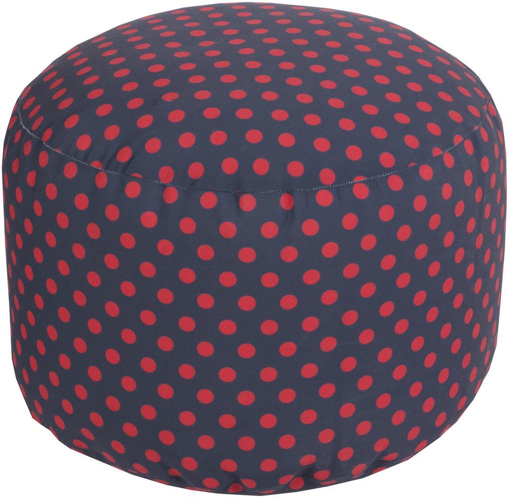 """Poufs 20"""" x 13"""" Round Pouf by Ruby-Gordon Accents at Ruby Gordon Home"""