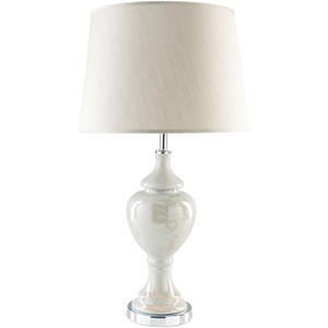 Grey Traditional Table Lamp