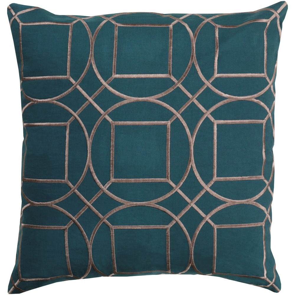 Skyline 20 x 20 x 4 Down Throw Pillow by Ruby-Gordon Accents at Ruby Gordon Home