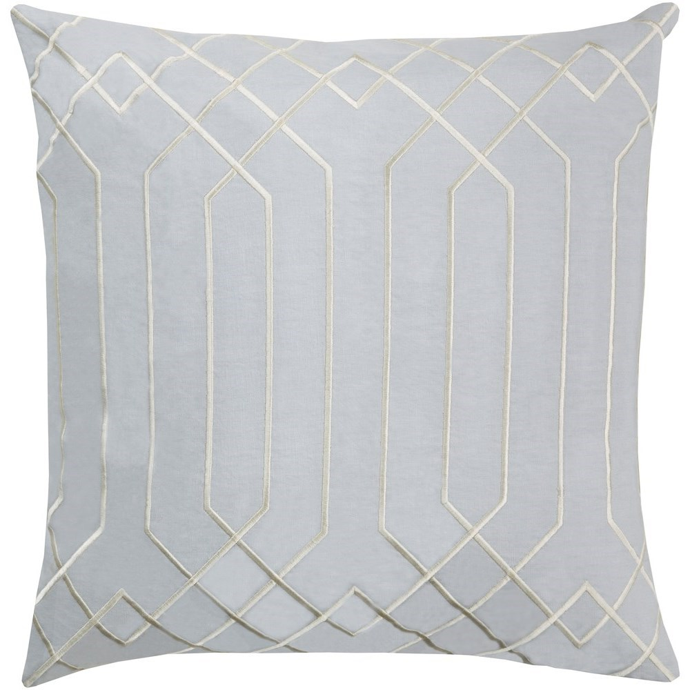 Skyline 18 x 18 x 4 Down Throw Pillow by Surya at Reid's Furniture
