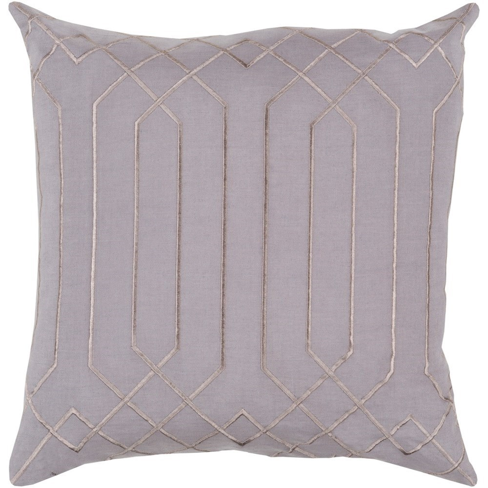 Skyline 18 x 18 x 4 Down Throw Pillow by Surya at SuperStore