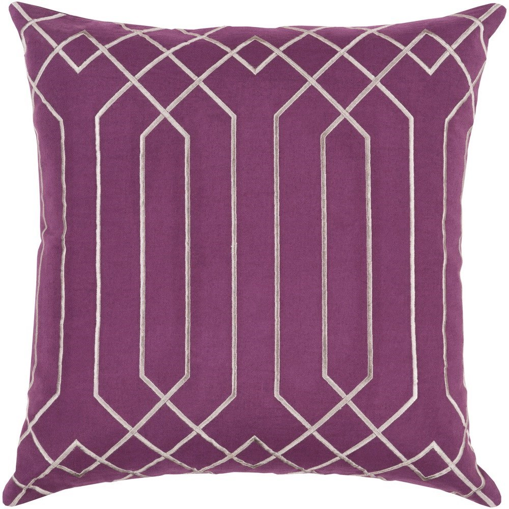 Skyline 22 x 22 x 5 Polyester Throw Pillow by Surya at SuperStore