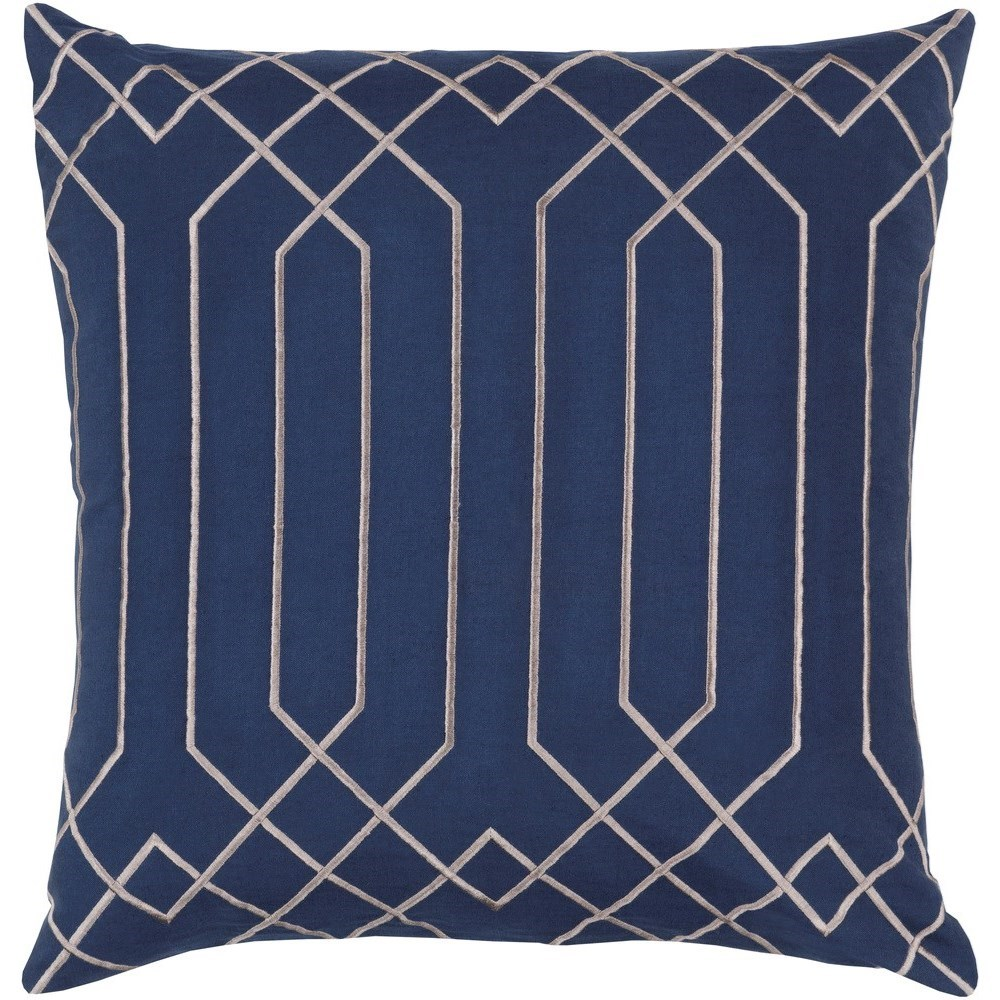 Skyline 18 x 18 x 4 Polyester Throw Pillow by Ruby-Gordon Accents at Ruby Gordon Home