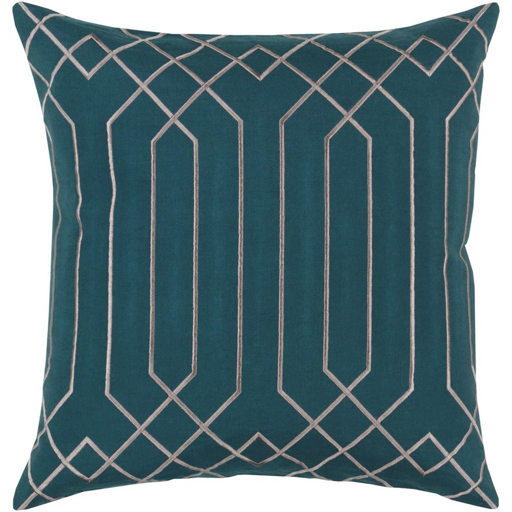 Skyline 18 x 18 x 4 Polyester Throw Pillow by Surya at SuperStore