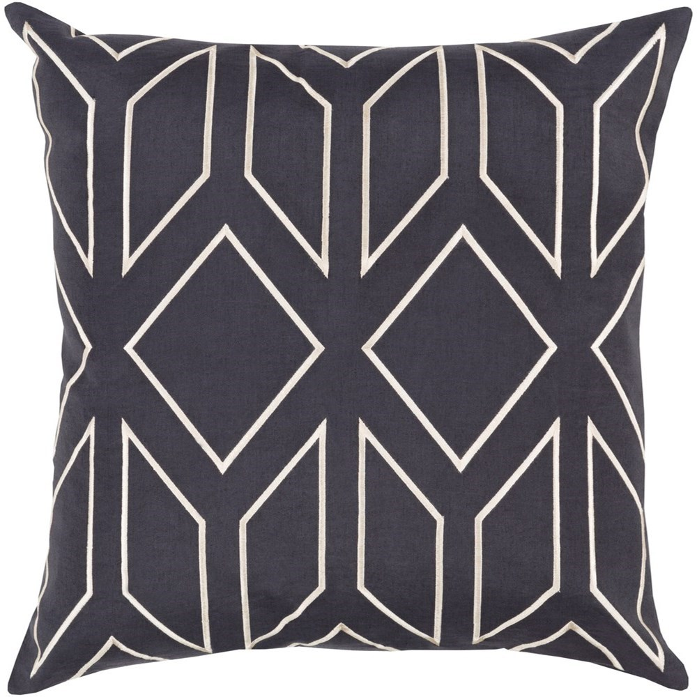 Skyline 22 x 22 x 5 Down Throw Pillow by Surya at Del Sol Furniture