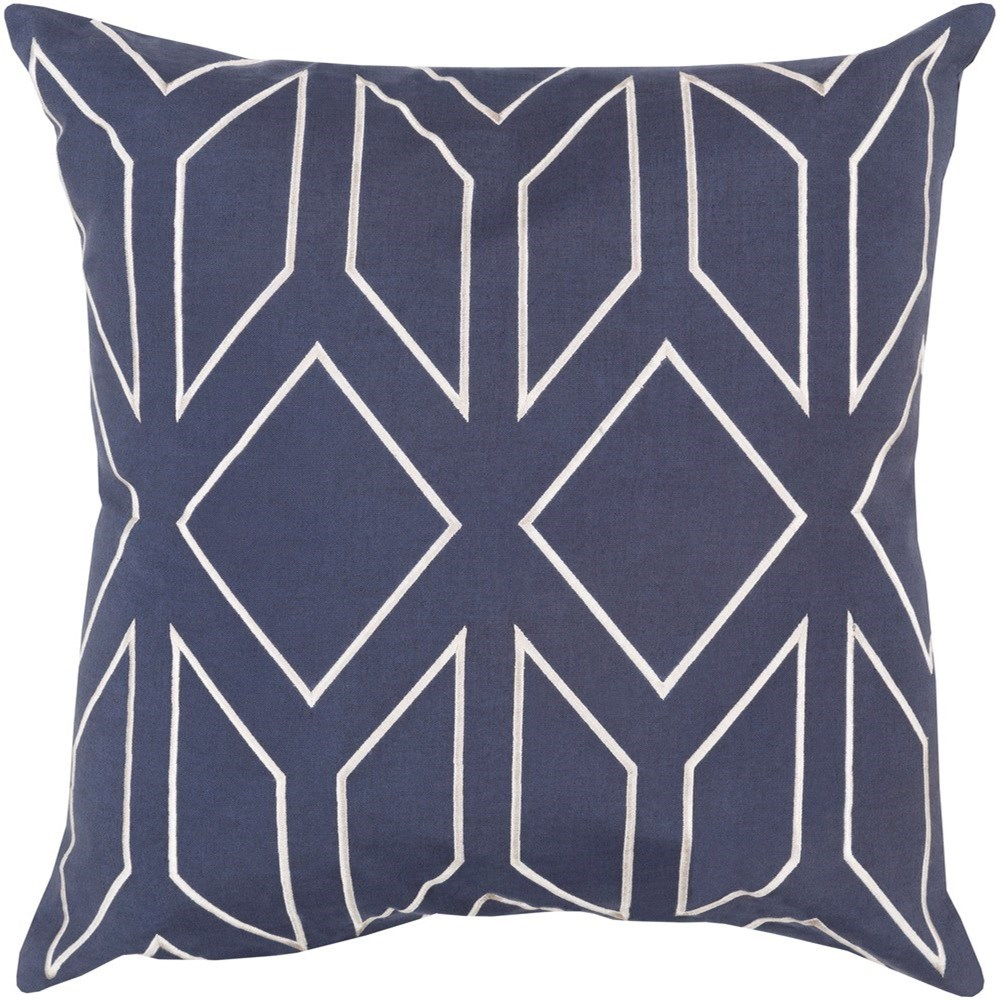 Skyline 18 x 18 x 4 Polyester Throw Pillow by Surya at Belfort Furniture