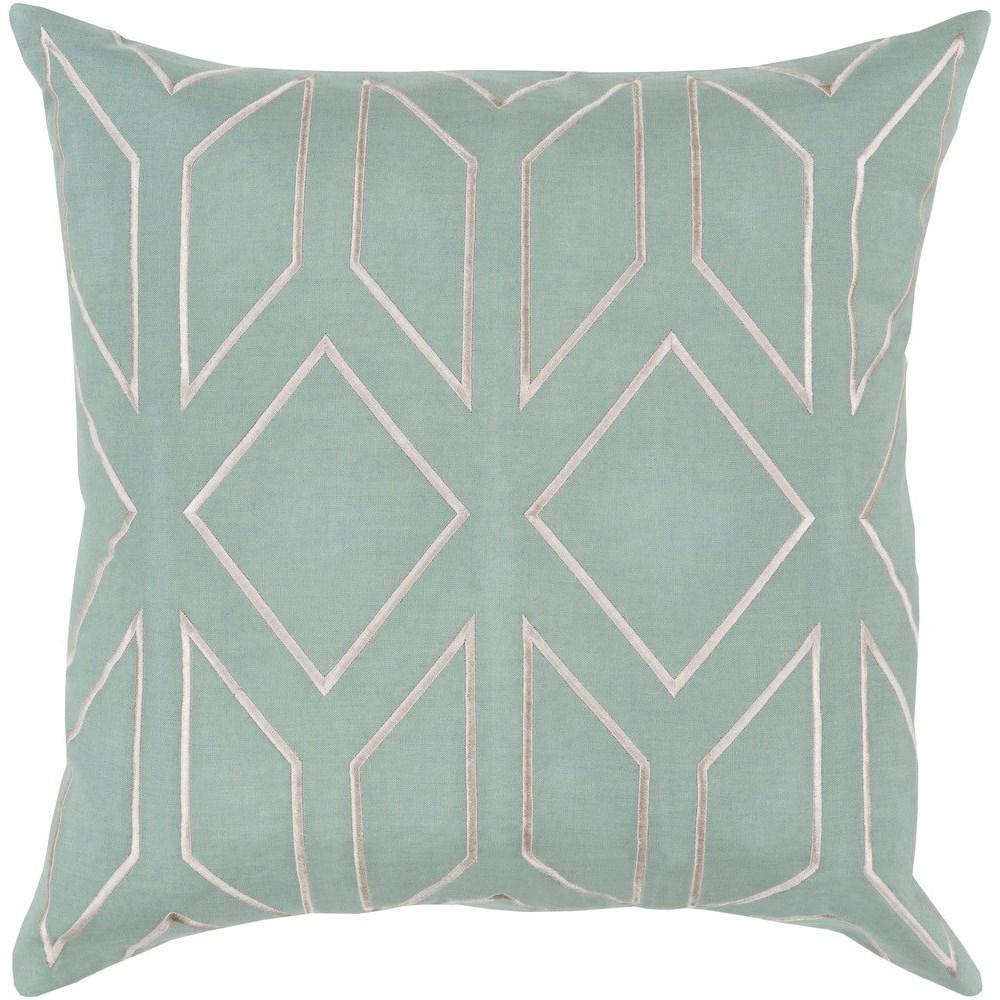 Skyline 18 x 18 x 4 Down Throw Pillow by Ruby-Gordon Accents at Ruby Gordon Home