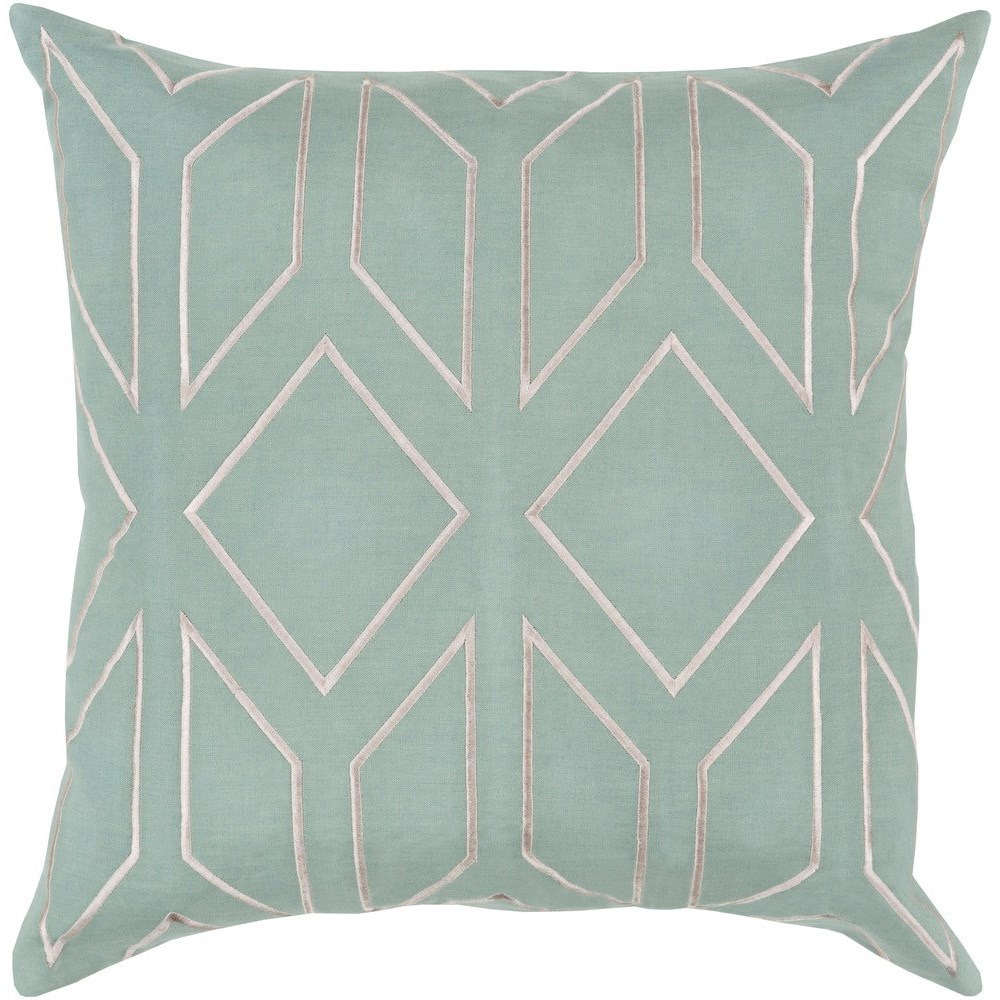 Skyline 22 x 22 x 5 Down Throw Pillow by Surya at SuperStore
