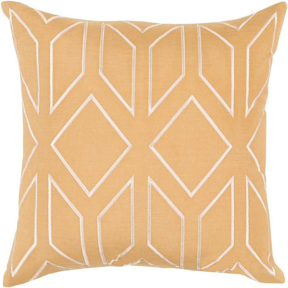 Skyline 18 x 18 x 4 Down Throw Pillow by Surya at Jacksonville Furniture Mart