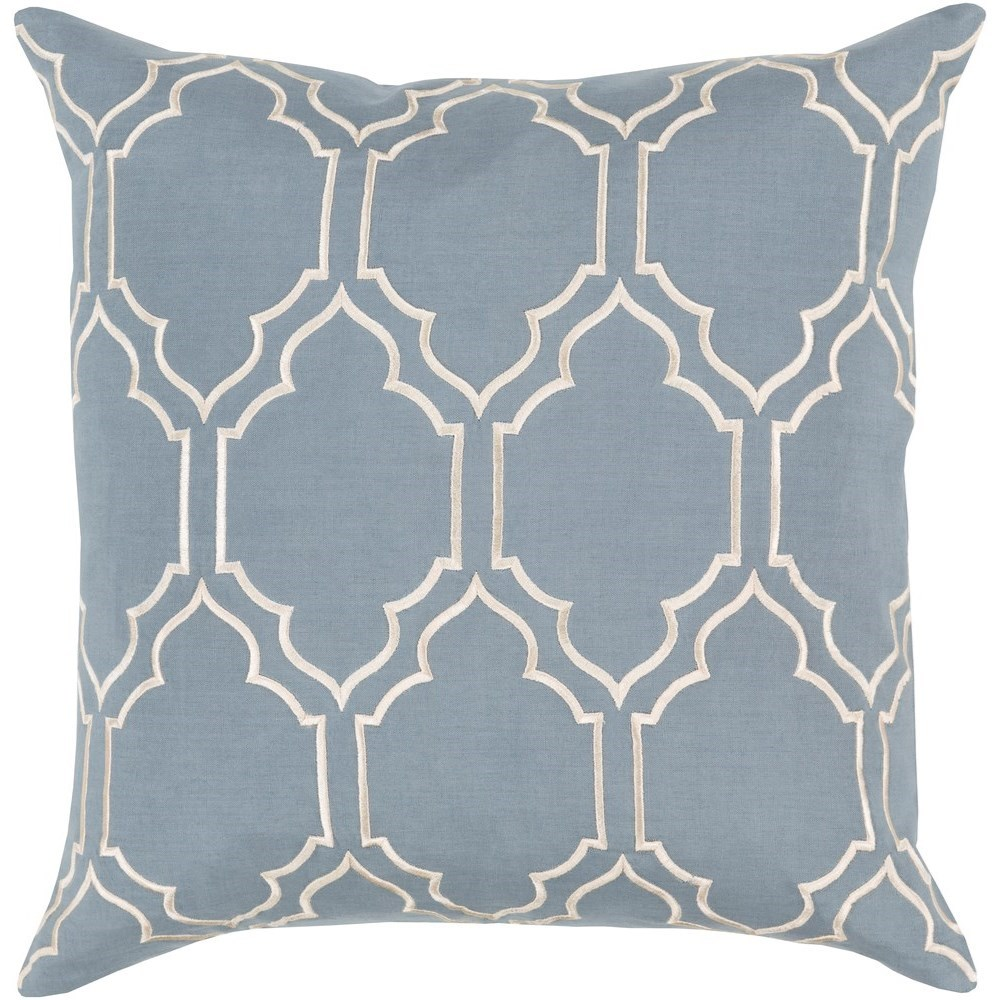Skyline 20 x 20 x 4 Down Throw Pillow by Surya at SuperStore
