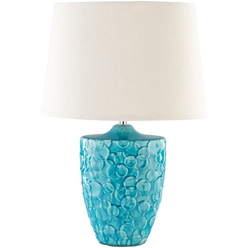 Thistlewood Teal Modern Table Lamp by Ruby-Gordon Accents at Ruby Gordon Home