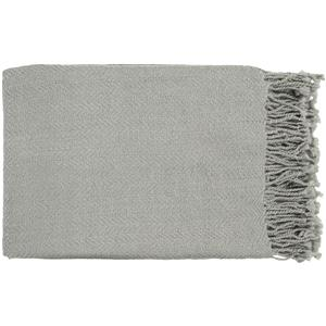 "Surya Throw Blankets Turner 50"" x 60"" Throw"