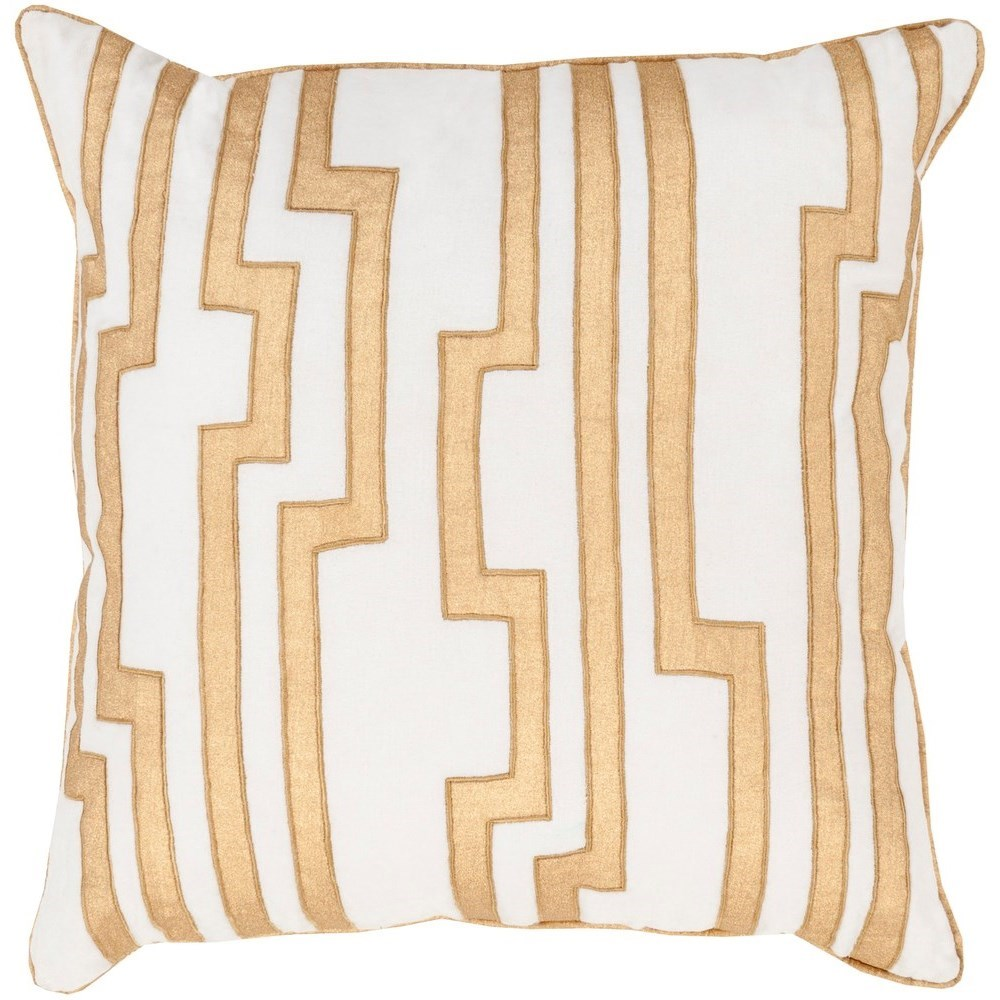 Velocity 22 x 22 x 5 Down Throw Pillow by Surya at SuperStore