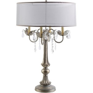 Ivory Glam Table Lamp