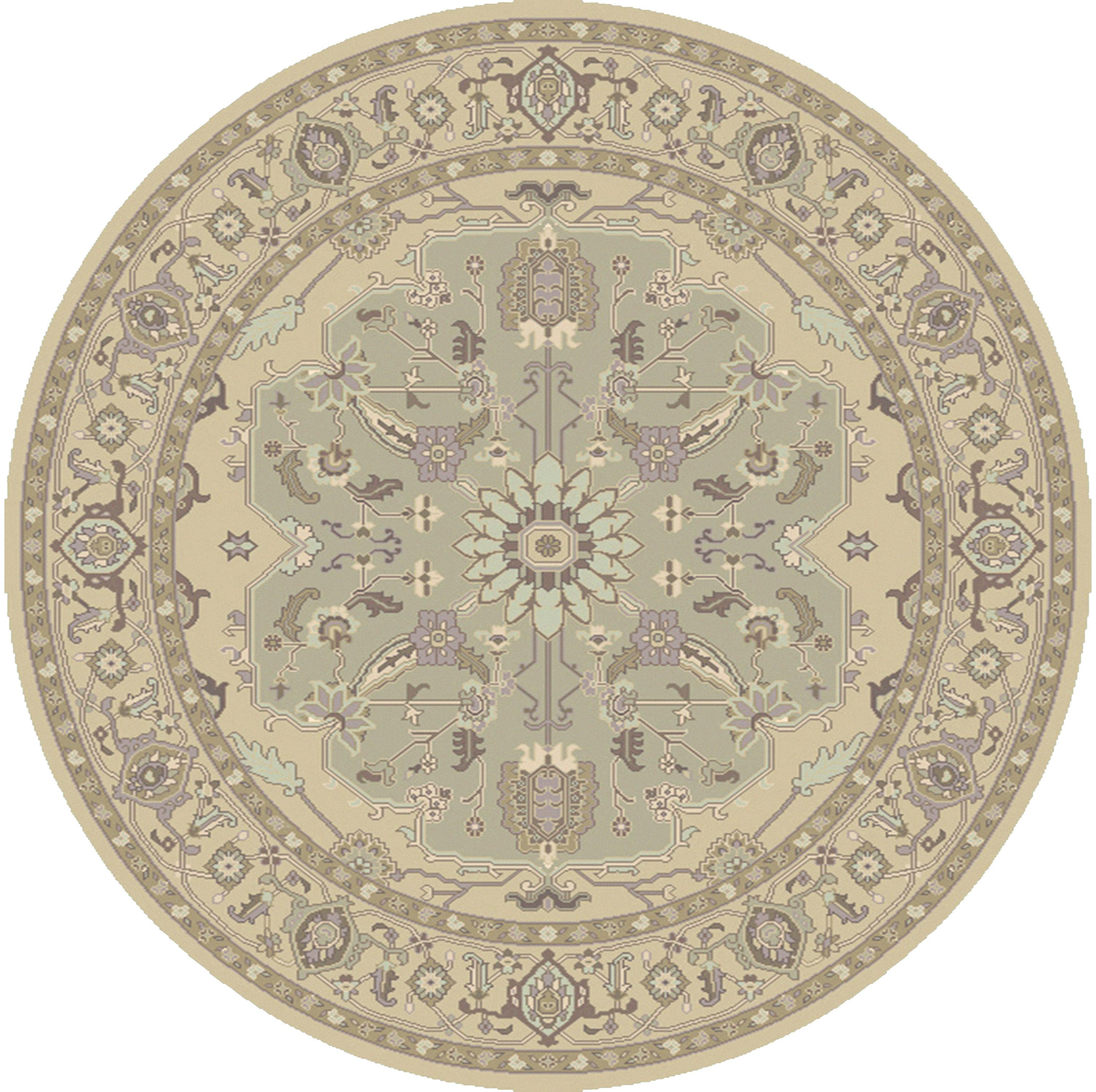 Zeus 8' Round by Ruby-Gordon Accents at Ruby Gordon Home