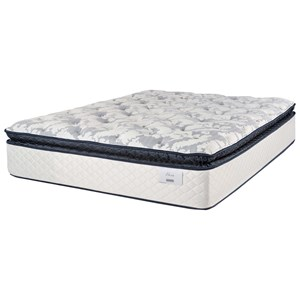 "Full 14"" Plush Pillow Top Pocketed Coil Mattress"