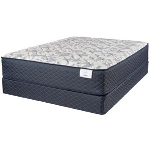 """Twin 14"""" Plush Pocketed Coil Mattress and Premium High Profile Foundation"""