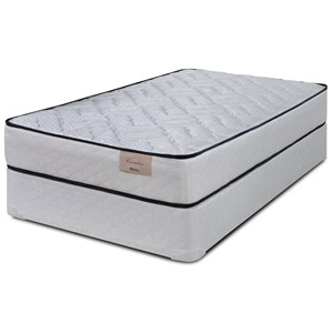 "Queen 9"" Innerspring Mattress and Premium High Profile Foundation"