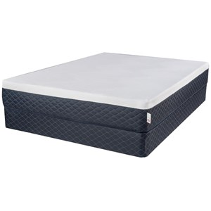 "Twin Extra Long 10"" Serene Comfort Foam Mattress and Premium High Profile Foundation"