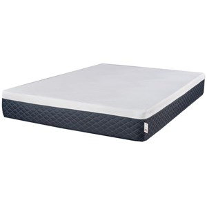 "Twin Extra Long 10"" Serene Comfort Foam Mattress"