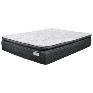 "Full 13"" Pillow Top Pocketed Coil Mattress"