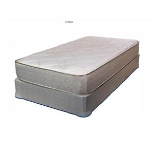 King Firm Mattress and Wood Foundation