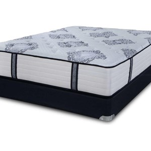 Full Coil on Coil Firm Luxury Mattress Set