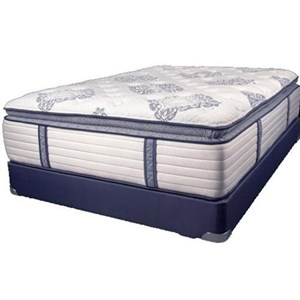 Queen Coil on Coil Pillow Top Mattress Set