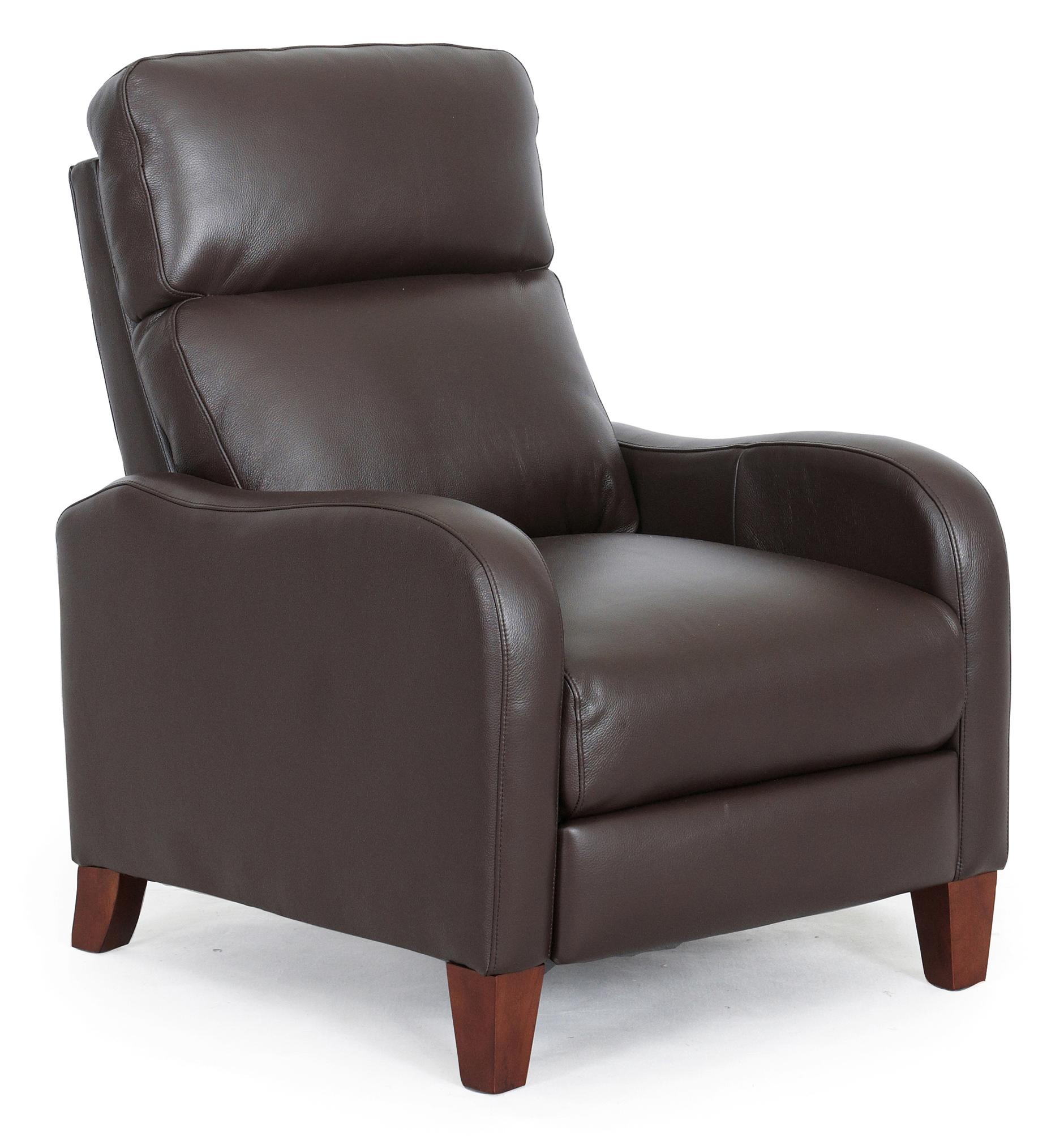 1005 Push Thru Arm Recliner by Synergy Home Furnishings at Johnny Janosik